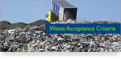 Waste Acceptance Criteria General Rules